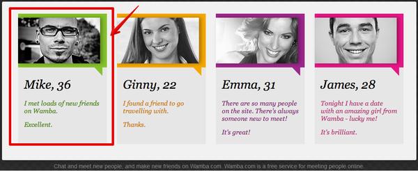 wamba dating sites